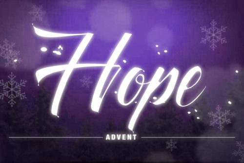 Hope: The Lord is with you!