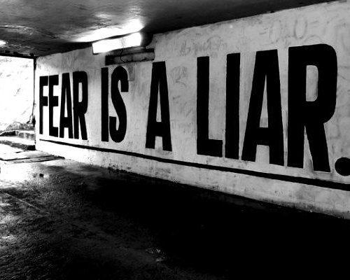 Do not let fear drive your faith
