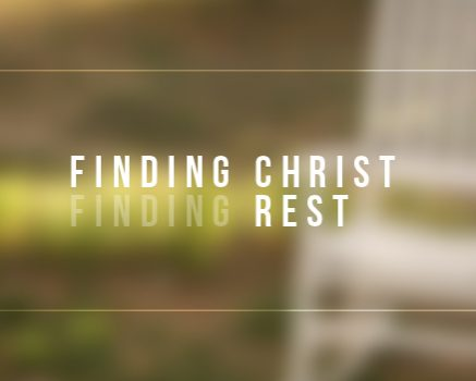 True Rest Comes Through Christ