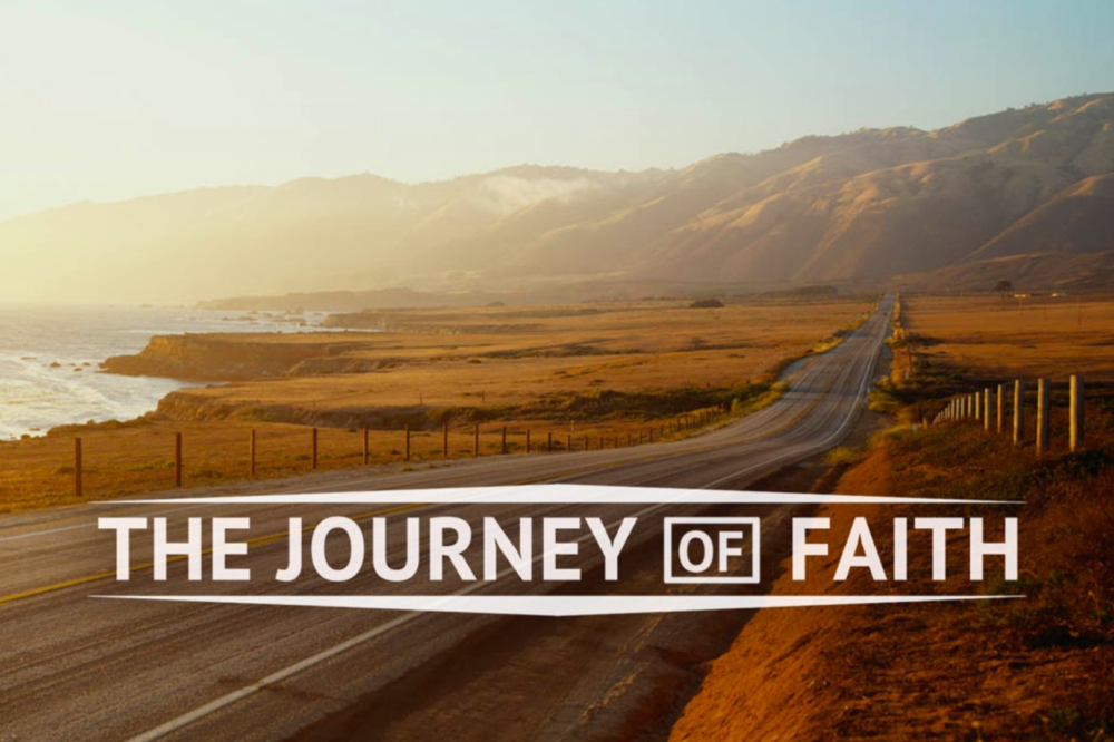 A journey of faith.